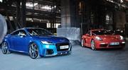 Comparatif Porsche 718 Cayman S vs Audi TT RS : l'élève défie le maître