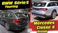 BMW Série 5 Touring (2017) vs Mercedes Classe E break : déjà le match