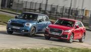 Essai : Le Mini Countryman 2017 défie l'Audi Q2 !