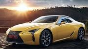 Lexus LC 500 (2017) : à partir de 109.000€ !