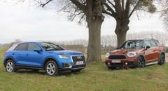 Essai Audi Q2 1.4 TFSI vs Mini Countryman Cooper : Le juste milieu