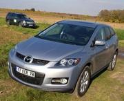 Essai Mazda CX-7 2.3 Turbo vs Cadillac SRX 3.6 GPL : L'affrontement Est-Ouest