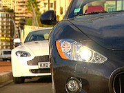 Comparatif Aston Martin V8 Vantage vs Maserati Gran Turismo : Classieuses et sportives