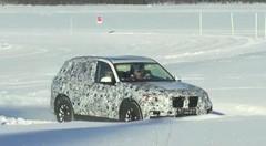 BMW : le nouveau X5 sous la neige et avec le V8