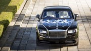 Rolls-Royce Wraith en hommage au rock
