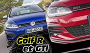 Essai Volkswagen Golf GTI et R : le test des Golf sportives 2017