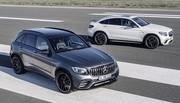 Mercedes-AMG GLC 63 4Matic+ : avec V8 sous le capot