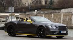 Essai Bentley Continental GT Speed Convertible Black Edition : Et elle n'est même pas noire !