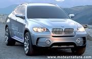 BMW X6 Active Hybride : un 4x4 de sport, lourd, mais très performant