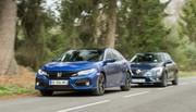 Essai : La Honda Civic 2017 défie la Renault Mégane essence