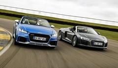 Essai comparatif : l'Audi TT RS Roadster défie la R8 Spyder !