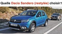 Quelle Dacia Sandero (restylée) choisir ?