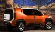 Toyota FT-4X : Le frère cubique du C-HR