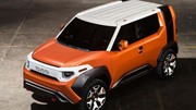 Toyota FT-4X : un concept cubique à New York