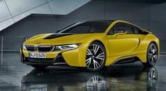 BMW i8 Protonic Frozen Yellow Edition : une série spéciale à Shanghai
