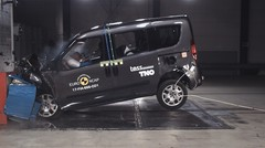 Crash-test Euro NCAP : encore un résultat mitigé pour Fiat avec le Doblo