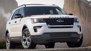 Ford Explorer : 3ème mise à niveau