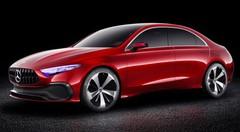 Mercedes Concept A Berline : la future Classe A en approche