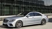 Mercedes : la Classe S restylée se dévoile