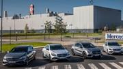 De la route au circuit avec les Mercedes AMG compactes