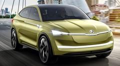 Vision E, un concept 100 % électrique chez Skoda
