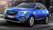Opel présente son nouveau SUV compact, le Grandland X