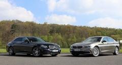 Essai BMW Serie 5 vs Mercedes Classe E : mêmes joueurs, nouveau match