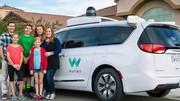 Google met des cobayes dans ses voitures autonomes