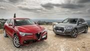 Essai : L'Alfa Romeo Stelvio défie l'Audi Q5