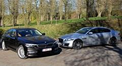 Essai BMW 520d vs Jaguar XF 20d : Le monde à l'envers ?