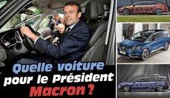 Quelle voiture pour l'investiture du président Macron le 14 mai 2017 ?