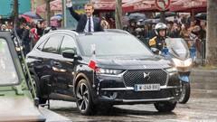 La voiture du président Emmanuel Macron est une DS 7 Crossback