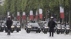 Le président de la république roule en SUV