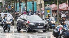 Le président Macron roule en DS, comme Hollande et De Gaulle