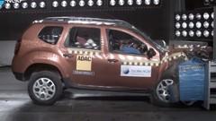Zéro étoile au Global NCAP pour le Renault Duster indien