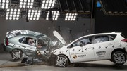 Crash-test : Toyota Corolla 1998 vs 2015