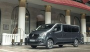 Renault Trafic SpaceClass : tapis rouge
