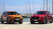 Essai Mazda CX-5 vs Seat Ateca : le bal des outsiders