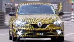Renault Mégane R.S. (2018) : Photos et vidéo sur le circuit de Monaco