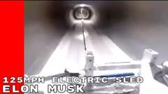 À 200 km/h dans un tunnel d'Elon Musk