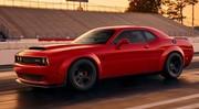 Dodge : les 840 ch de la Challenger Demon pour 74 000 €