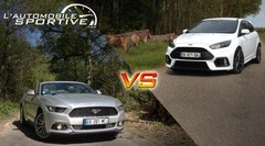 Match : Ford Mustang Ecoboost vs Focus RS