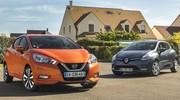 Essai comparatif : la nouvelle Nissan Micra défie la Renault Clio