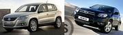 Volkswagen Tiguan Vs Toyota RAV4 : D'un continent à l'autre
