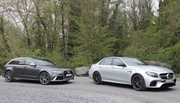 Essai Mercedes E 63 AMG S vs Audi RS6 Performance : À coups de V8