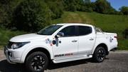 """Mitsubishi lance la série spéciale """"Over Rock"""" sur le L200"""