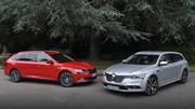 Essai Renault Talisman Estate vs Skoda Superb Combi : Le match des gros porteurs