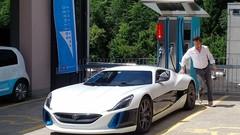 Richard Hammond a conduit la supercar électrique Rimac Concept One