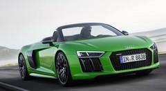 Audi R8 Spyder V10 plus : la fin du monopole de l'Huracan Spyder