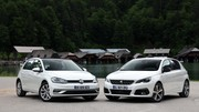 Essai Peugeot 308 (2017) vs Volkswagen Golf (2017) : duel de championnes